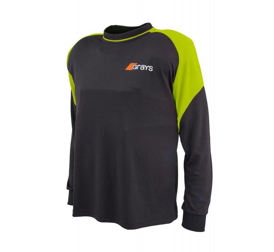 GK Shirt Nitro Zwart/Neon Geel L/S