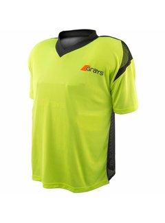 Grays GK Shirt Nitro Black/Neon Yellow S/S