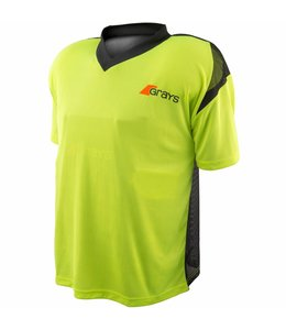 Grays GK Shirt Nitro Neon Geel/Zwart S/S