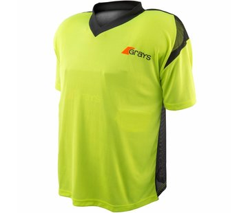 Grays GK Shirt Nitro Black/Neon Yellow S/S