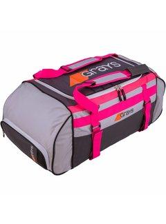 Grays GR800 Sporttas Fusion Grau/Silber/Pink