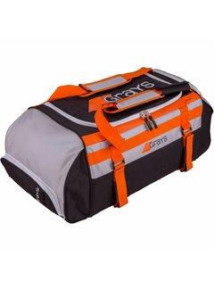 Grays GR800 Sporttas Fusion Zwart/Zilver/Oranje