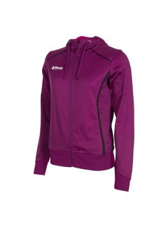 Reece Core TTS Hooded Sweat Full Zip Ladies Violett/Schwarz