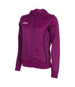 Reece Core TTS Hooded Sweat Full Zip Ladies Paars/Zwart