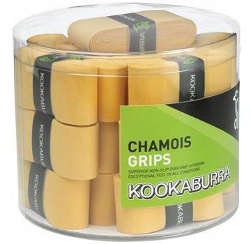 Kookaburra Chamois Grip - Yellow (sold in Candy Box of 25)