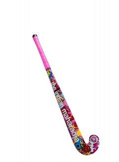 Indian Maharadja Stickerbomb pink wood