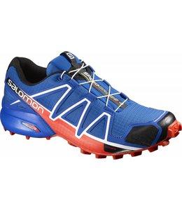Salomon Speedcross 4 Heren Blue Yonde/Bk/Lava Or