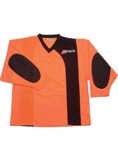 Grays G500 Goalie Shirt Orange/Black