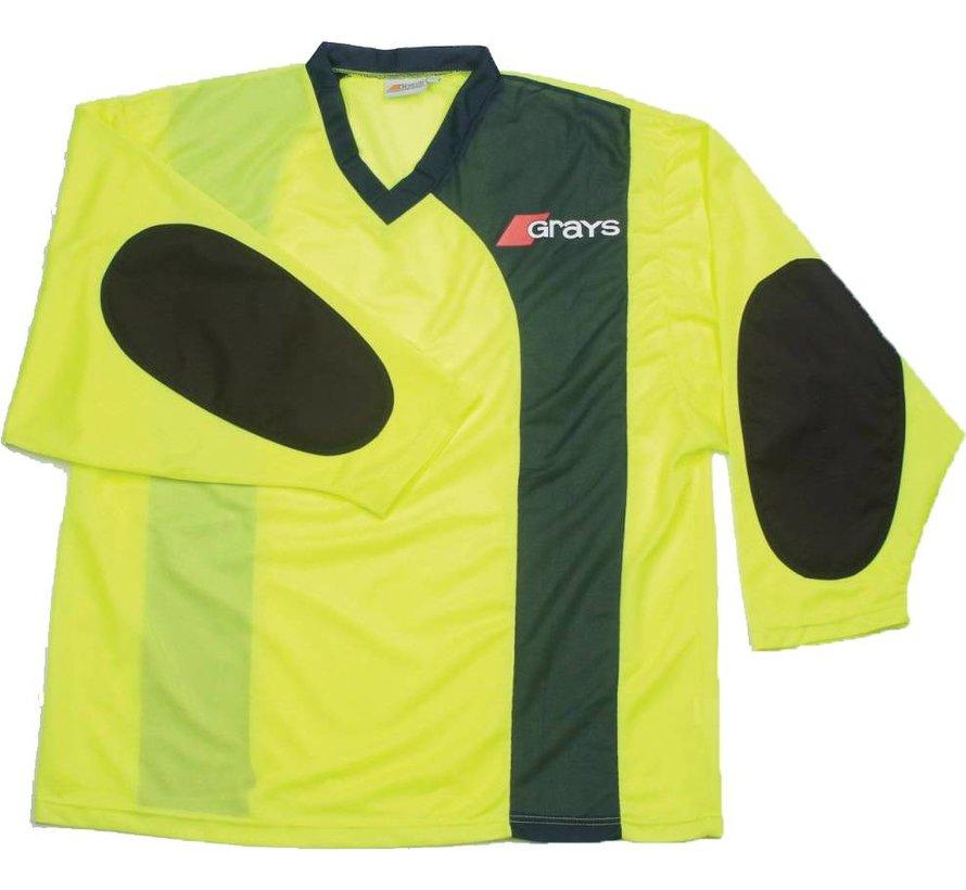 G500 Goalie Shirt Yellow/Navy