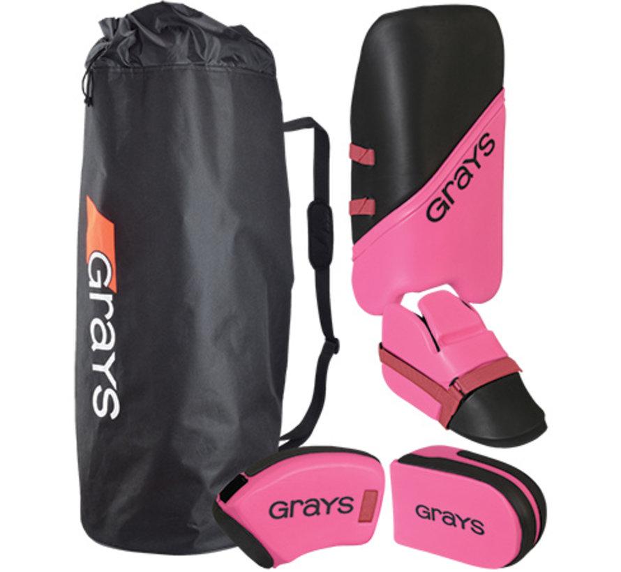 G100 Goalie Set Junior Zwart/Roze