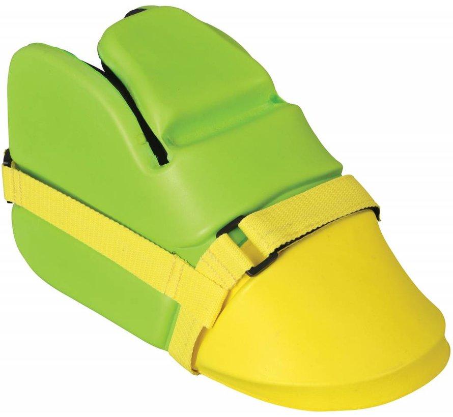 G100 Goalie Set Junior Lime/Fluo Gelb