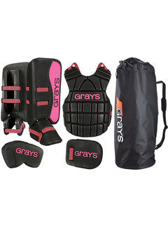 Grays G90 Goalie Set Junior Black/Pink