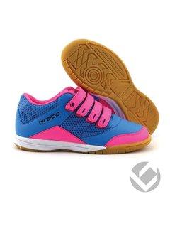 Brabo Indoor velcro shoe Black/Pink/Navy