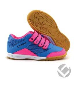 Brabo Indoor velcro shoe Schwarz/Pink/Navy