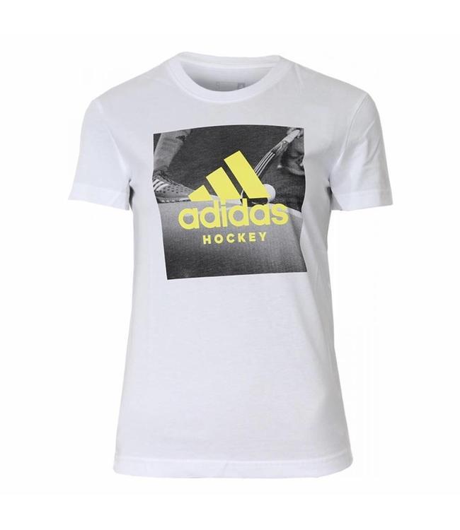 Adidas Graphic Tee Men Weiss