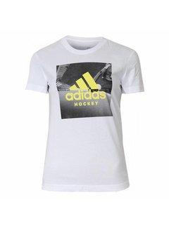 Adidas Graphic Tee Women Weiss