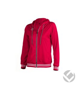 Brabo Womens Tech Hooded Rood
