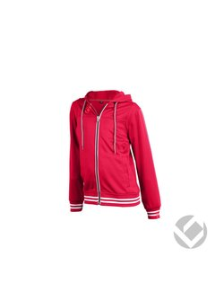 Brabo Kids Tech Hooded Red