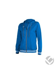 Brabo Womens Tech Hooded Royal Blue