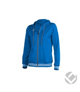 Brabo Womens Tech Hooded Royal Blau