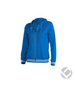 Brabo Womens Tech Hooded Royal Blauw