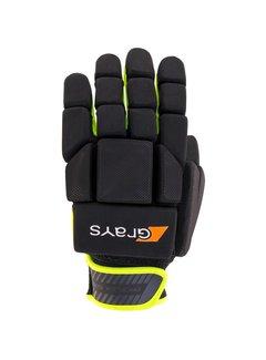 Grays G600 Glove Links Schwarz/Neon Gelb