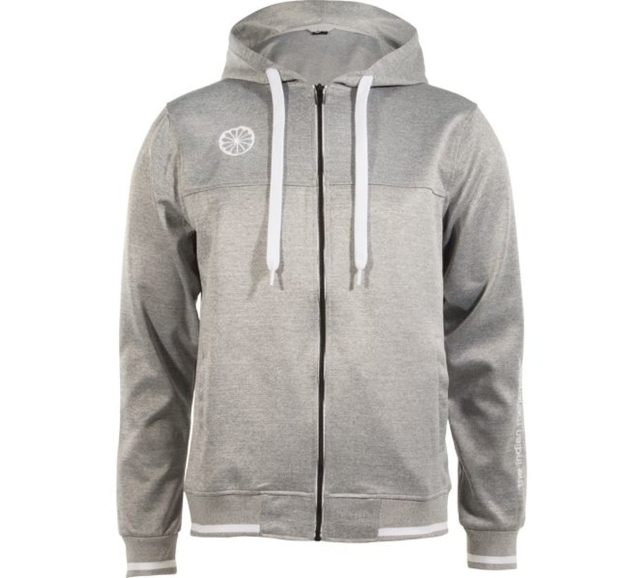 Herren tech hooded Grau