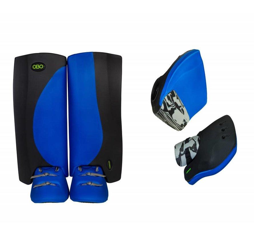 ROBO Hi-Rebound Set Blauw/Zwart