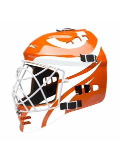 TK 3.5 Total Three Junior Goalie Helmet Orange