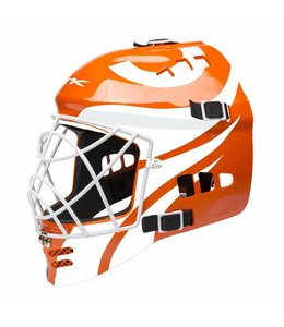 TK 3.5 Total Three Junior Goalie Helmet Orange