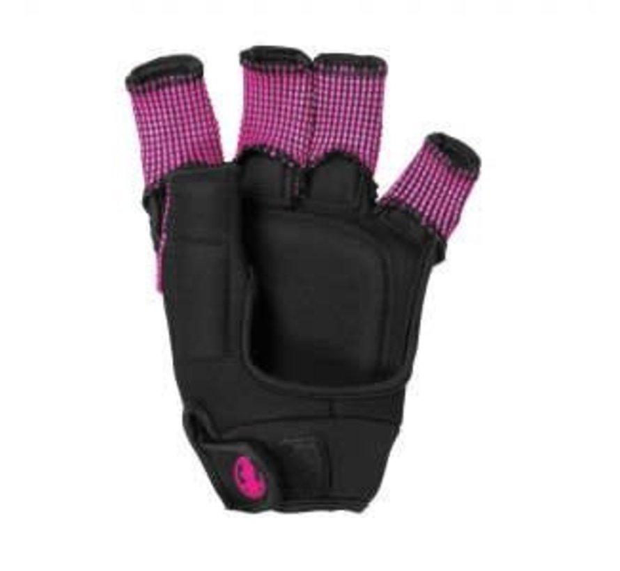 Control Protection Glove Zwart/Roze