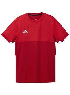 Adidas T16 Short Sleeve Tee Boys Red