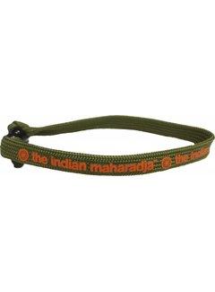 Indian Maharadja Bracelet Oranje/Groen