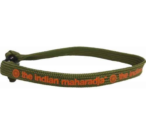 Indian Maharadja Bracelet Orange/Grün