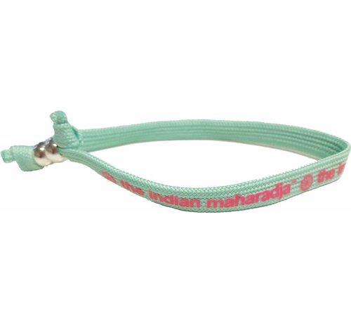 Indian Maharadja Bracelet Pink/Mint
