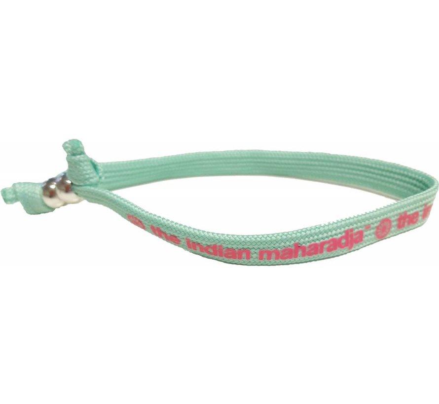 Indian Maharadja Bracelet Roze/Mint
