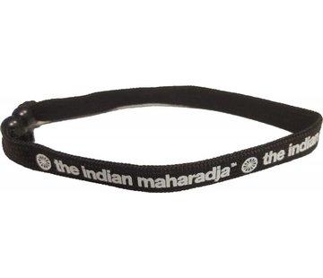 Indian Maharadja Armband Weiss/Schwarz