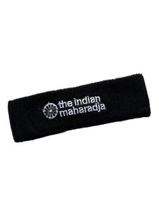 Indian Maharadja Headband - Schwarz