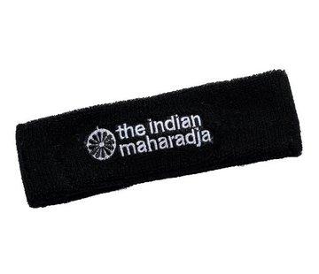Indian Maharadja Stirnband Schwarz