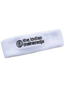 Indian Maharadja Headband -  White