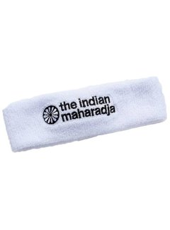 Indian Maharadja Headband White
