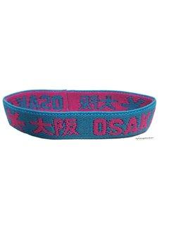 Osaka Bracelet Elastic Roze/Blauw