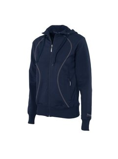 Reece Dames Hooded Full Zip Sweatvest Navy