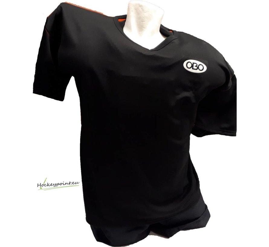 Goalieshirt Short Sleeve Zwart/Oranje