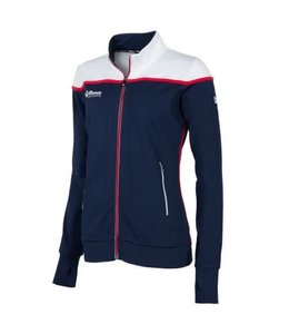Reece Varsity Jacket FZ Damen Navy / Weiß