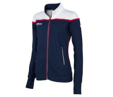 Reece Varsity Jacket FZ Ladies Navy/Wit