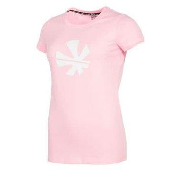 Reece Classic T-Shirt Damen Rosa