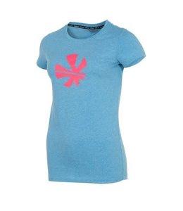 Reece Classic T-Shirt Damen Royal / Diva Pink