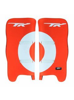 TK Total Three GLX 3.2 Legguards Orange/White