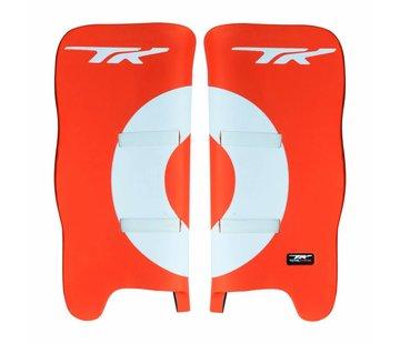 TK Total Three GLX 3.2 Legguards Oranje / Wit